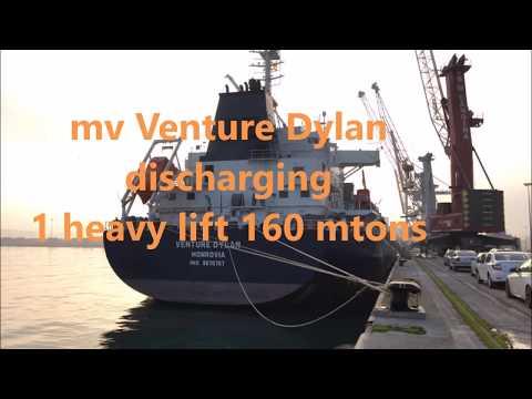 28 VN Navegacion   Spain   Unloading 1 Heavy Lift 160 mtons