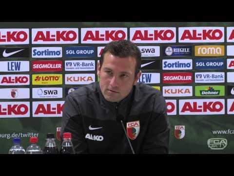 FC Augsburg: Presskonferenz vor Derby mit FC Bayern