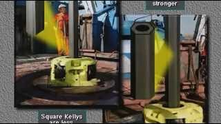 Schlumberger drilling trainig -Kelly and top drive (subtitulos en español).