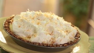 Coconut Cream Pie W/ Macadamia Crust Recipe || Kin Eats