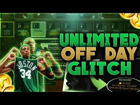 NBA 2K17 | UNLIMITED OFF DAYS GLITCH | UNLIMITED VC GLITCH (100K IN A HOUR) | UNLIMITED EVENTS & CON