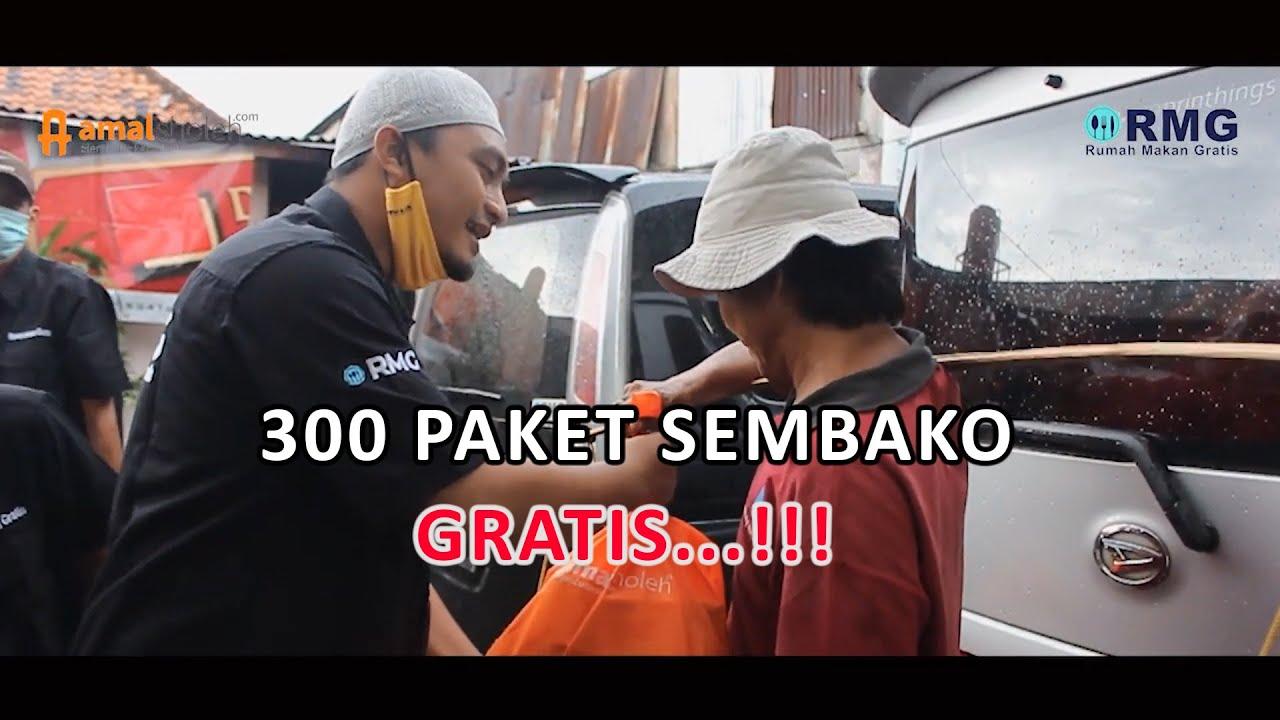 300 SEMBAKO DIBAGIKAN SECARA GRATIS !!! Rumah Makan Gratis & Amalsholeh.com
