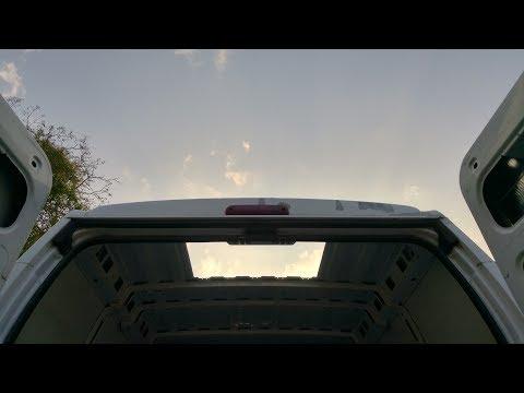 2 - Roof window installation - Dometic Midi Heki on Peugeot Boxer