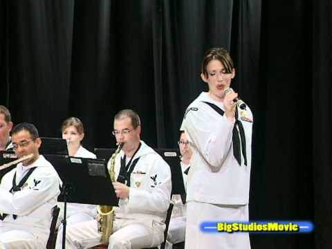 US NAVAL  FORCES EUROPE BAND -West side story-.mpg
