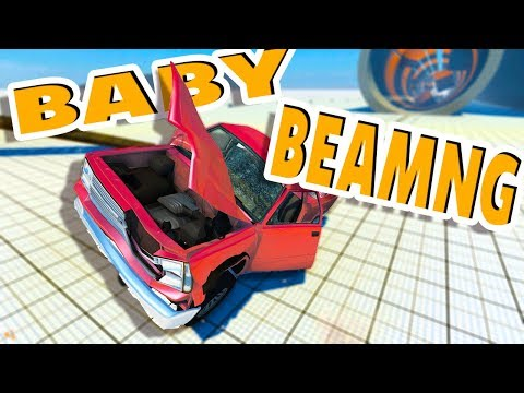BLAST FROM THE PAST! - BeamNG Drive 2013 Pre - Alpha Gameplay!