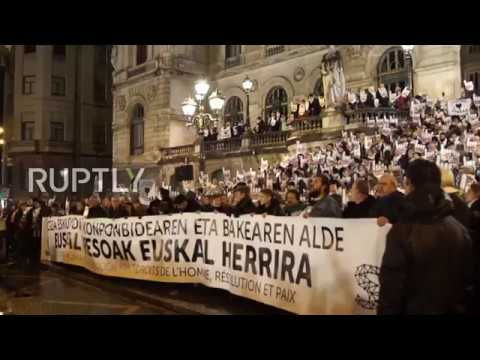 Spain: Thousands demand end to Spain's dispersion policy for ETA prisoners