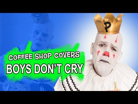 """""""Boys Don't Cry"""" - The Cure cover (Bob Dylan in a coffee shop style) - Puddles Pity Party"""