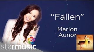 Marion Aunor - Fallen [Official Lyric Video]