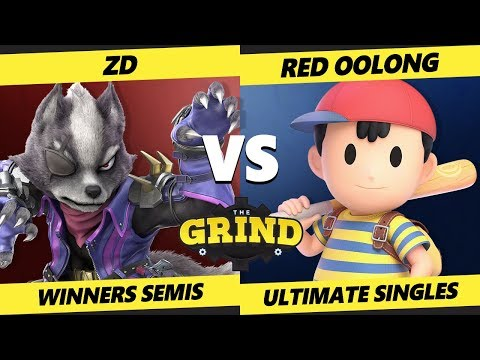 Smash Ultimate Tournament - ZD (Wolf) Vs. Red Oolong (Ness) The Grind 111 SSBU Winners Semis