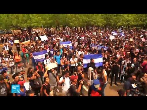 فشل المفاوضات بين الحكومة والمتظاهرين في نيكاراغوا  - 17:22-2018 / 5 / 24