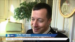 Yvelines : hommage aux gendarmes victimes du devoir