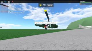 ROBLOX - Helicopter showcase // UH-1H Huey