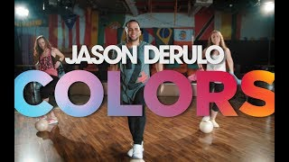 Video Jason Derulo - Colors (OFFICIAL DANCE CHOREOGRAPHY) download MP3, 3GP, MP4, WEBM, AVI, FLV April 2018