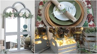 DOLLAR TREE FALL HOME DECOR 2018