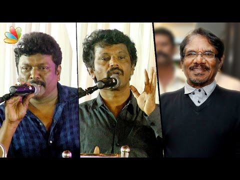Untrained amateurs enter cinema today : Cheran | Bharathiraja Film Institute Launch, Parthiban