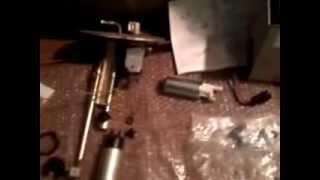 fuel pump swap mazda miata walbro pump install