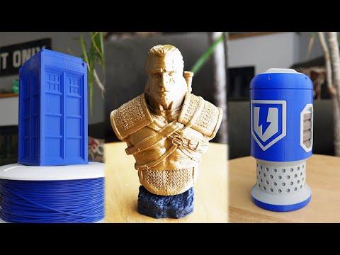 10 cool 3D printed things! octolapse prusa mk3s timelapses wildrosebuilds