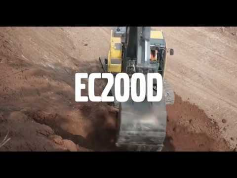 Volvo introduce the EC200D crawler excavator in Asia Pacific