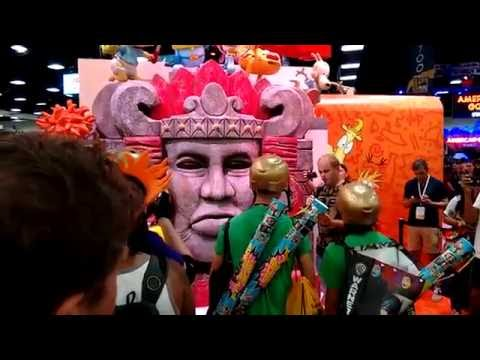 2016 Comic Con Day 2 - Weta Workshop, Nickelodeon, Toynami, UD Replicas, Conan O'Brien and more!