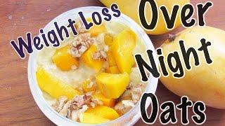 Overnight Oats Recipe (Mango Lassi)