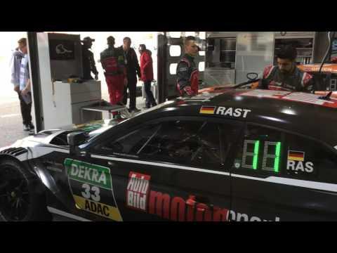 Hockenheim 2017 - Ausfahrt Audi René Rast