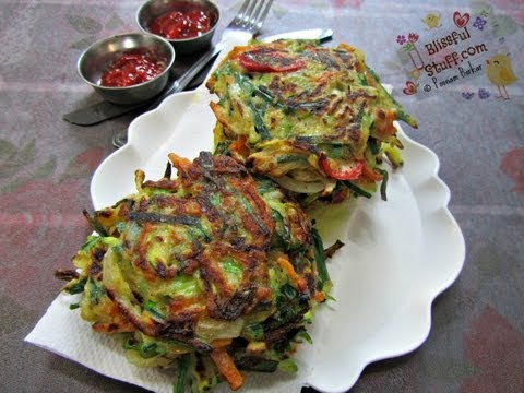 How To Make Vegetable Pancake | Indian Breakfast Recipes | Indian Veg Recipes