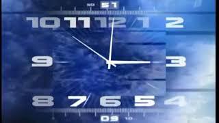 Часы Первого канала наоборот.