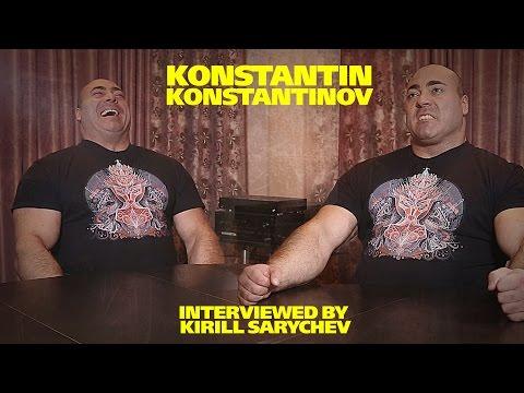 Konstantin Konstantinov. Interviewed