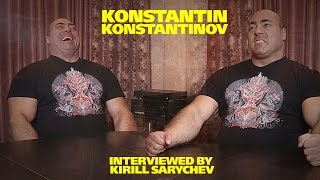 Konstantin Konstantinov. Interviewed by Kirill Sarychev (eng subs)