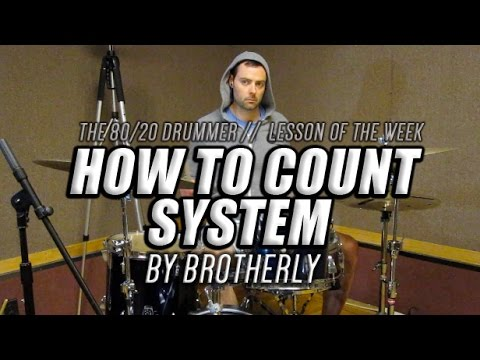 How to Play System by Brotherly on Drums - The 80/20 Drummer