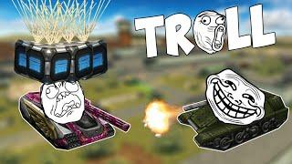 Tanki Online TROLL MONTAGE #1 (Funny video) Танки Онлайн