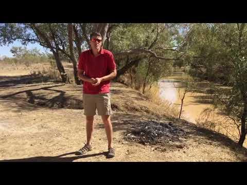 FREE CAMPING - Winton, Queensland Australia