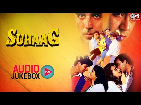 Suhaag Audio Songs Jukebox | Ajay Devgan, Akshay Kumar, Karisma Kapoor, Nagma | Hit Hindi Songs