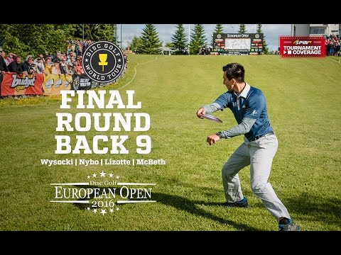 DGWT EO2016 Lead Card Final Round, Back 9 (Wysocki, Nybo, Lizotte, McBeth)