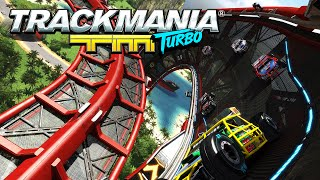 Trackmania Turbo - PC Gameplay