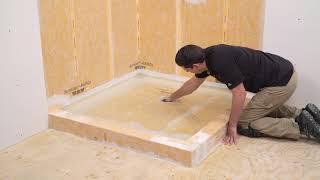 Comment faire un test d'étanchéité après l'installation du système de douche de Schluter Systems