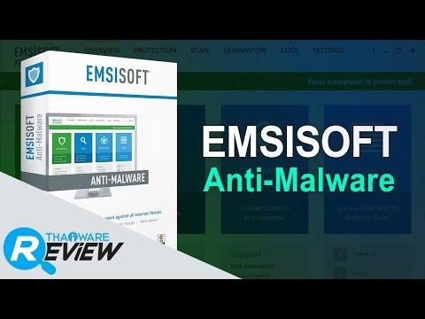 รีวิว Emsisoft Anti-Malware โปรแกรมสแกนไวรัส และมัลแวร์ แบบออลอินวัน