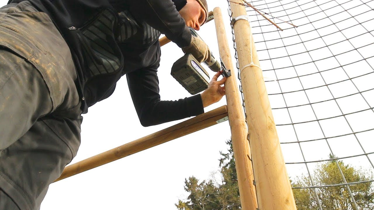 How To Install Deerbusters Deer Fence