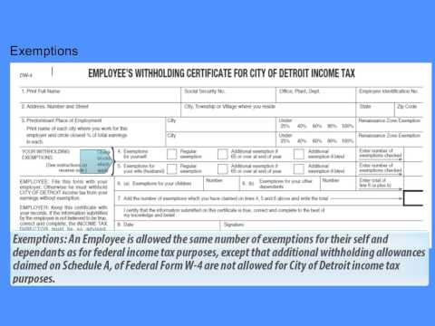 Click Here For Search Results - Video - city of detroit tax forms