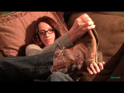 Upcycle: Penny's Cowboy Boots Review (sold)