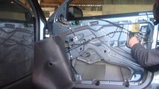 Skoda Octavia Drivers Door Repairs