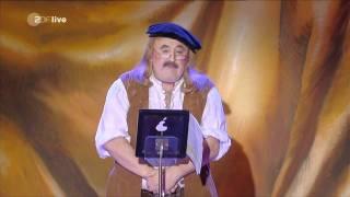Hans-Peter Betz als Guddi Gutenberg