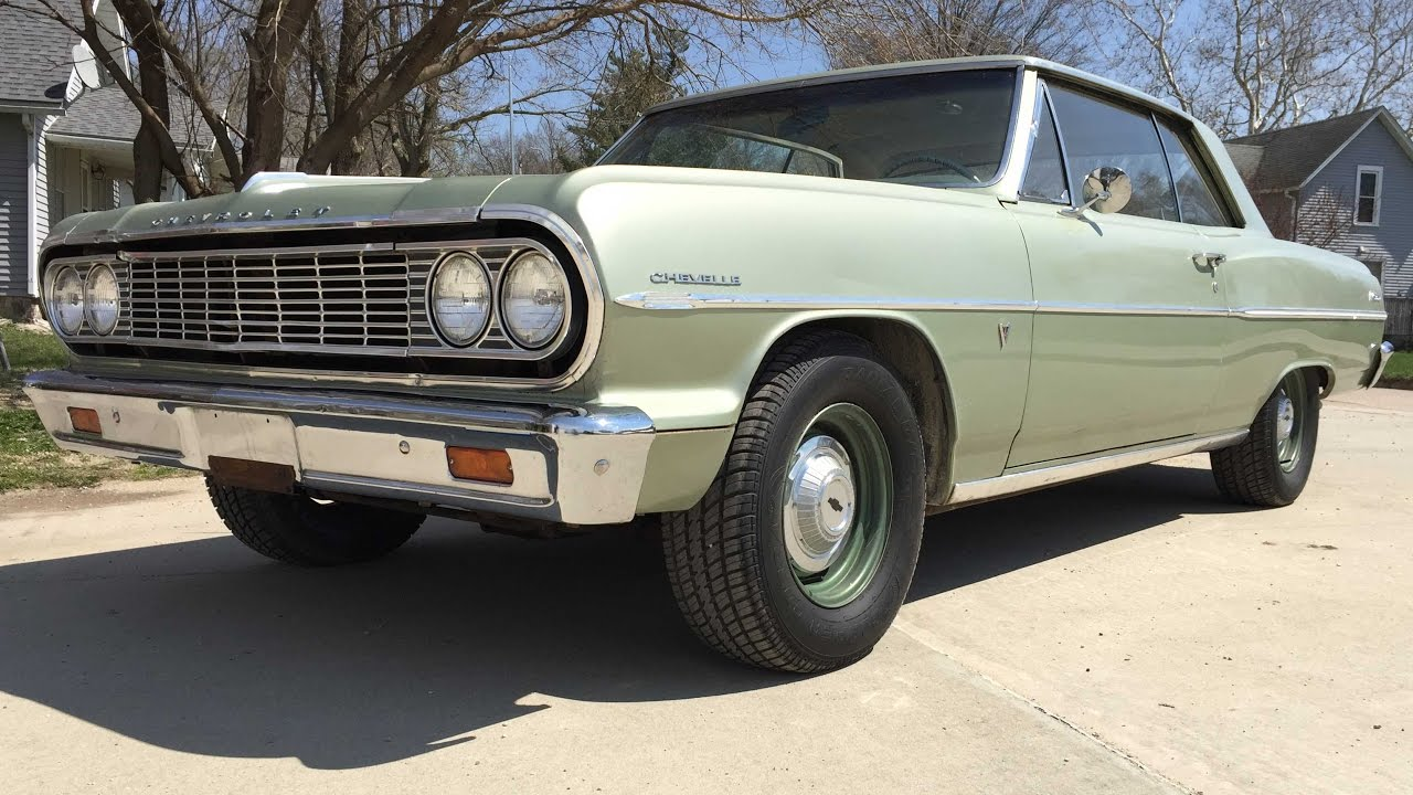 UNRESTORED Barn Find - 1964 Chevelle 2-door hardtop car for sale ...