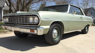 UNRESTORED Barn Find - 1964 Chevelle 2-door hardtop car for sale Iowa Used Cars