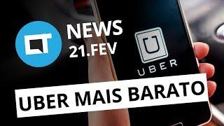 Nova categoria do Uber; Mercado Livre lança serviço de assinatura e + [CT News]