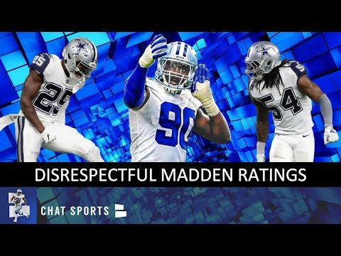 6 WORST Madden 20 Cowboys Ratings: DeMarcus Lawrence, Xavier Woods, Antwaun Woods & Jaylon Smith
