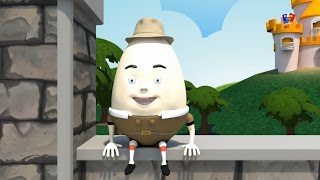 Шалтай-болтай сидел на стене | потешки для детей | 3d рифмы | Humpty Dumpty Sat On A Wall