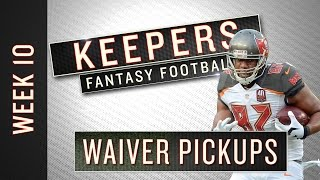 NFL Week 10 fantasy football waiver wire targets