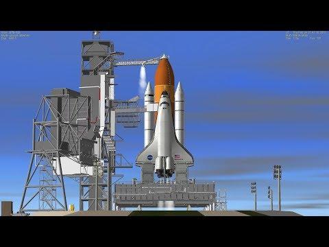 NASA ทำการปล่อยกระสวยอวกาศ (Orbiter Vehicle Designation: OV-103)