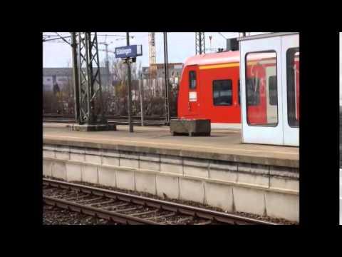Böblingen - S-Bahn Stuttgart mit ET 420, ET 423, ET 430 - ET 425 - IC + DB 181 sowie DB 101 uvm.